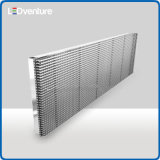 pH20 유리제 투명한 발광 다이오드 표시 정면 건물