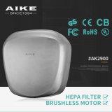 ABS Plastic Auto Jet Air Hand Droger voor Badkamer (AK2630)