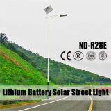 Luces al aire libre de la calle solar con el Ce RoHS 120lm/W