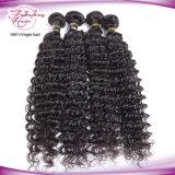Trama peruana do cabelo de Remy do Virgin da onda profunda