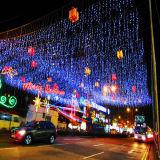 Indicatore luminoso d'attaccatura del ghiacciolo della decorazione LED di natale per la decorazione di Holidaly dalla fabbrica