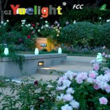 Yuelight 8 cores que mudam a luz a pilhas da tabela da barra do diodo emissor de luz da barra clara do diodo emissor de luz