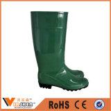 Laarzen van het Werk van pvc van de Laarzen van de Regen van mensen de Rubber In het groot Lange