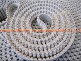 PU-und Gummi-materieller Zahnriemen-synchroner Riemen