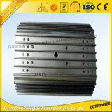 perfil de aluminio anodizado 6063t5 para el proceso del CNC