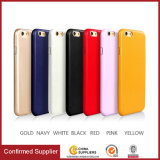 Capa de telefone de couro Ultrathin Soft Quality PU para iPhone 6plus