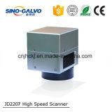 Galvanómetro de la exploración Jd2207 para la máquina de la marca del laser de la fibra
