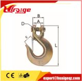 ラッチが付いている造られたG80合金鋼鉄目の吊り鎖のホック