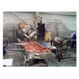 De hand Machine van de Rand van de Steen om Plakken aan Grootte Te snijden