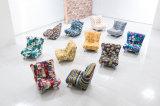 Zapatos coloridos de la tela que cambian el taburete o el regalo de la silla para los clientes