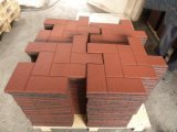 A borracha de bloqueio telha o Paver de borracha colorido de borracha Square&#160 das telhas de assoalho da ginástica; Rubber Telha