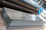 Hoja de acero galvanizada 0.14*850*2000 del material para techos del azulejo de Congo