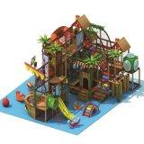Campo da giuoco dell'interno poco costoso, strumentazione dell'interno del parco di divertimenti, castello impertinente