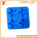 Bandeja de hielo de encargo del silicón de la categoría alimenticia de la venta caliente