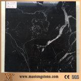 Lastre di lucidatura di pietra del marmo del granito della decorazione della parete del marmo del ghiaccio nero