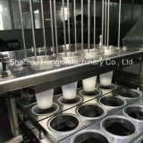 필름 롤에 의하여 자동 컵 충전물 그리고 밀봉 기계