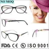 De nieuwe Acetaat Eyewear van de Verkoop van de Manier van het Ontwerp Hete voor Vrouwen