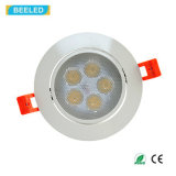 Blanco fresco de Dimmable de la luz del punto de la alta calidad 5W LED Downlight Epistar de RoHS del Ce