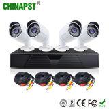 cámara DVR (PST-AHDK04CH) del CCTV de Ahd de la visión nocturna del punto negro de 2MP 1080P