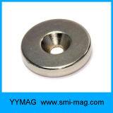 De sterke Magneet Verzonken Magneet van het Neodymium van de Zeldzame aarde van de Lijn van de Ring Neo