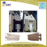 Machine décorative d'extrusion de configuration de brique de panneau de voie de garage de pierre de Faux de PVC