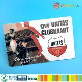 URL que codifica tarjetas de visita sin contacto del plástico Ntag215 NFC