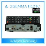 Hevc/H. 265 o ósmio satélite Enigma2 DVB-S2+2*DVB-T2/C do linux do decodificador de Zgemma H5.2tc da caixa da HDTV Dual afinadores