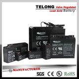 Bateria recarregável da luz Emergency do diodo emissor de luz da bateria 6V3ah de Telong