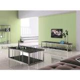 Tavolino da salotto di vetro moderno di vendita calda domestica della mobilia