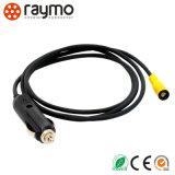 Zoccolo fisso di Raymo ECG con due noci e contatto diritto per il connettore circolare stampato del PWB del circuito/8 Pin