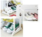 رصيف صخري رخيصة بيضاء مسيكة بلاستيكيّة حذاء من حامل قفص