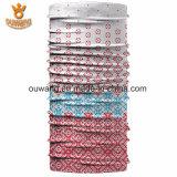 Tubo Headwear di Microfiber del Bandana del poliestere lavorato a maglia abitudine poco costosa