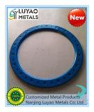 Blauwe Anodized/CNC die Deel met Aluminium machinaal bewerken