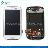 Asamblea del digitizador de la pantalla táctil de I9300 LCD para el reemplazo de Samsung S3
