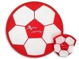 Frisbee pliable de vente chaude de modèle de propriétaire pour l'animal familier