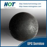 A máquina do moinho de esfera do OEM forjou a esfera de moedura do aço 20mm-160mm