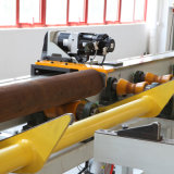 Découpage mobile de pipe de conteneur et station de travail taillante de préparation