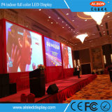 El alto panel de visualización de interior de LED del contraste P4