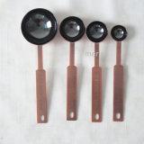 4つのサイズのステンレス鋼の電気めっきされた測定のスコップ