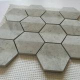 Изготовленный на заказ популярные мраморный плитки мозаики для украшения Wall&Floor