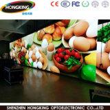 Innenhöhe P7.62 erneuern farbenreiche Bildschirm-Bildschirmanzeige der Miete-LED