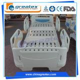 Kaltgewalztes Stahlrahmen-elektrisches 5 Funktions-Krankenhaus-faltendes Bett (GT-BE5021)