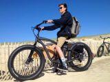 48V 500Wブラシレス後部モーター人電気浜のバイクの脂肪質のタイヤのEバイク