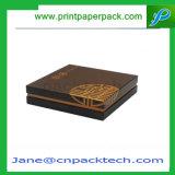 Подгонянная твердая упаковывая коробка подарка бумаги упаковки ювелирных изделий крышки