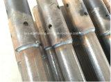 Стандарты лесов Ringlock горячего DIP гальванизированные/вертикальные столбы для конструкции