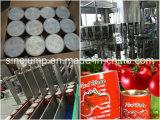 Molho do tomate da qualidade da exportação que faz a máquina