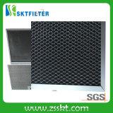 Фильтры алюминиевого активированного угля рамки главным образом