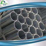 Tubo de acero galvanizado del conducto del horario 40