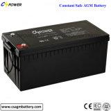 Bateria de armazenamento profunda solar do AGM do ciclo do elevado desempenho 12V