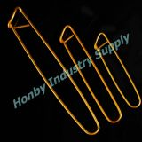 かぎ針編みアルミニウム編むケーブルの針のステッチのホールダーPin